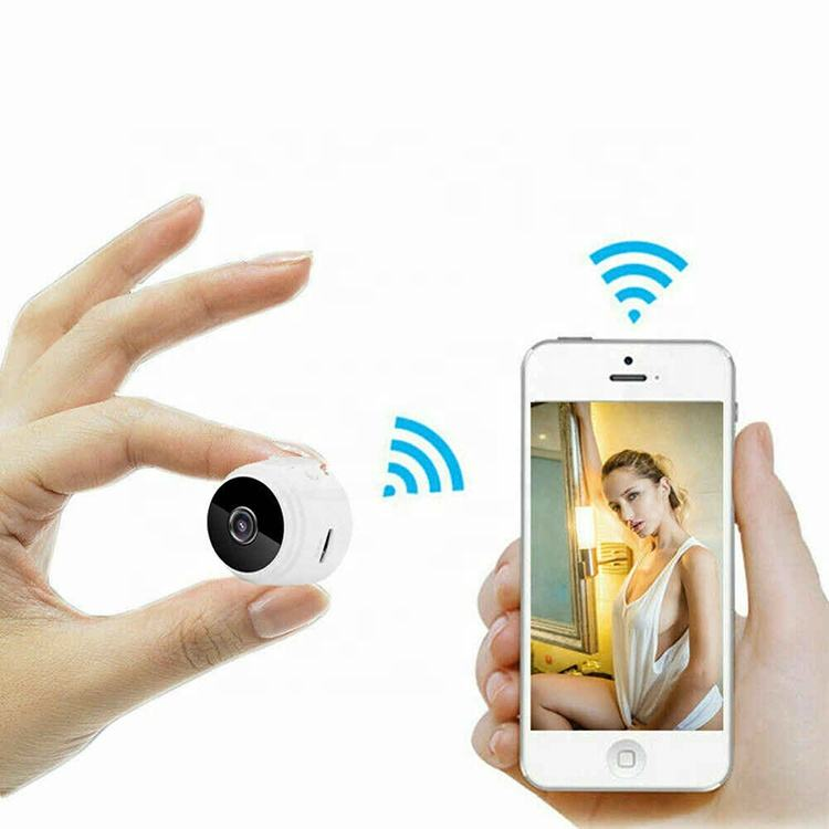Small Hidden Home Security Camera System Wireless Spycam CCTV Magnetic WIFI 1080P Camara Night Vision With Motion Sensor