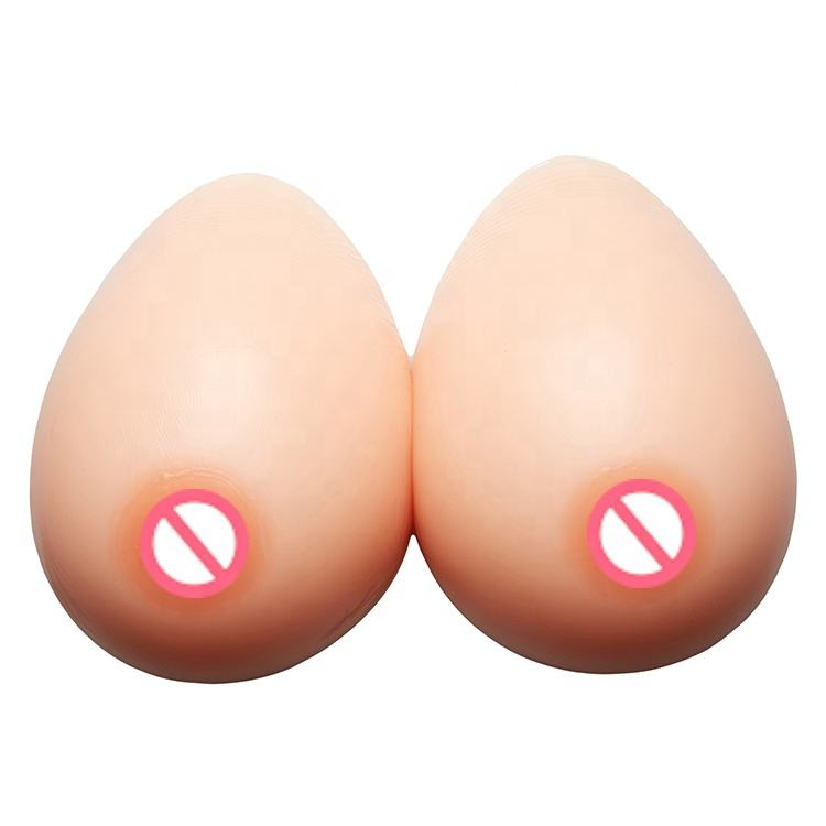 Silicone Sein Artificiel, Faux Seins Pour Performer Transsexuel Halloween Mascarade Crossdress Proaps