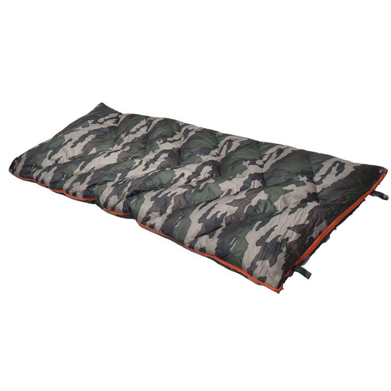PIZZ ANNU Traveling Sleeping Bag Envelope-type Hooded Sleeping Bag for Camping Hiking