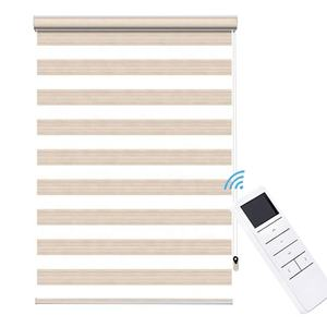 Indoor window zebra blinds remote control electric motorized roller blind wi-fi motor