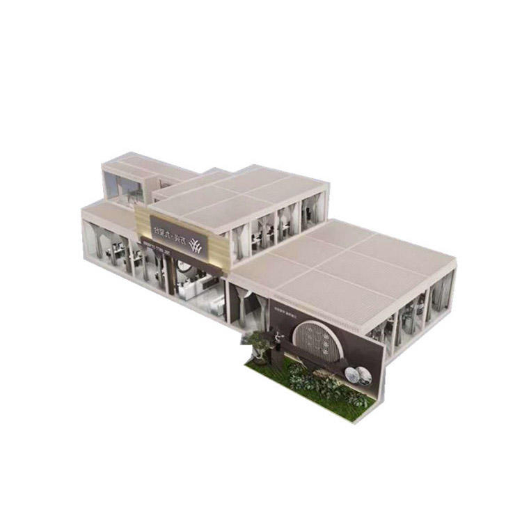 New fashion design two story 40 foot container price house