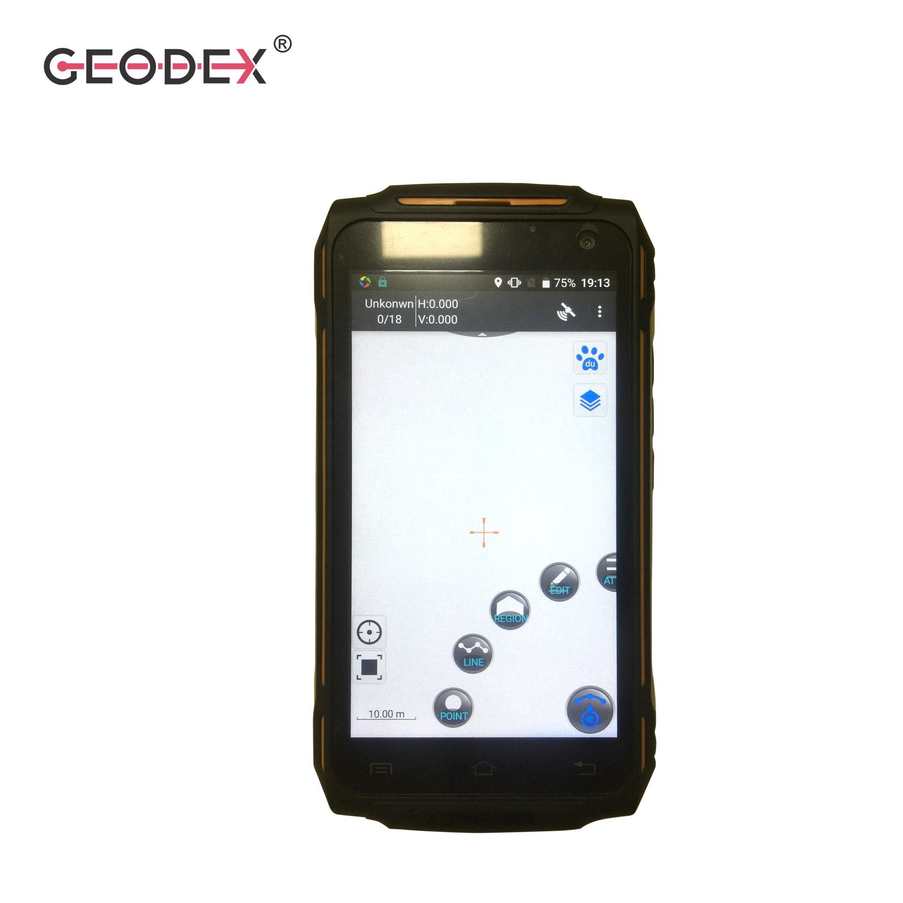 High Precision handheld GPS GIS data collector T15Plus Handheld GNSS GPS Surveying Instrument