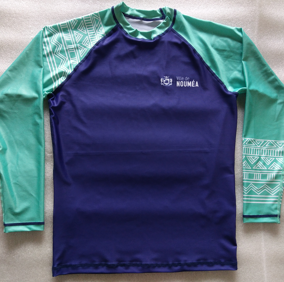 Sublimation impression rashguards