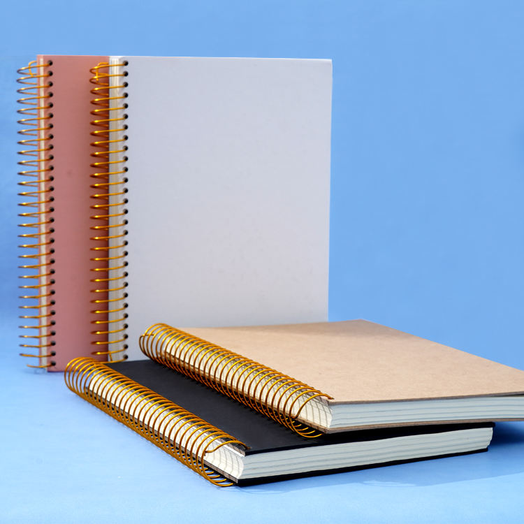 School supplies custom thick hardcover cuaderno B5 spiral notebook wholesale