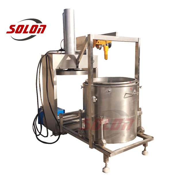 Industriële fruit sapcentrifuge voor ananas/wortel sapcentrifuge productie/fruit juicer blender