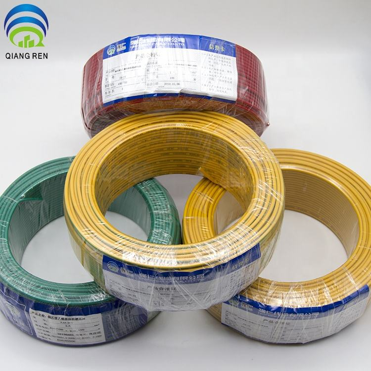 Copper Sheathed 6mm Cable And Earth 0.6/1 Kv Flexible Electric Power Heating Resistant Cable