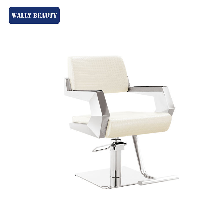 Salon Hair Dryer Best Quality Hydraulic Stainless Steel Armrest Styling Chair