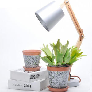 Home garden terracotta orchid planter pots / modern simple home decoration ceramic flower pot