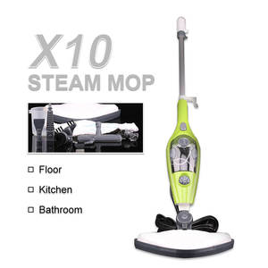 Multi-Function Handhold 1200W High Quality Water Tank Pluggable Cleaner Household 10 In 1Electric Steam Mop