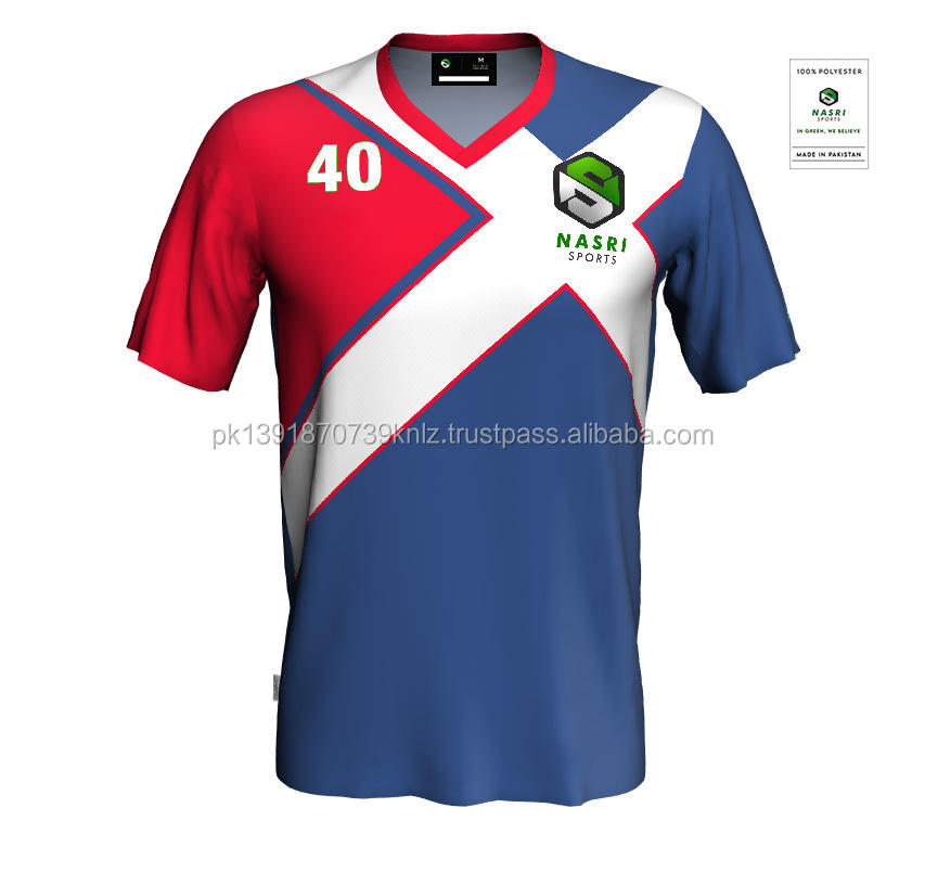 High quality Whole sale Custom Sublimation Digital Print soccer jersey for Team Men