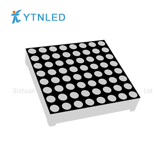 3MM 8x8 Bits LED Matrix Module Common Cathode//Anode Bright Red 16-Pin 32*32mm