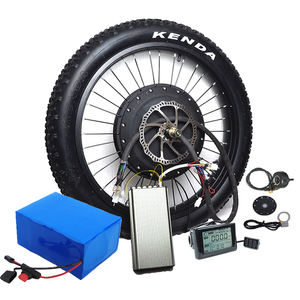 Hot sale Super power 120km/h high speed electric bike conversion kit 72V 8000w hub motor