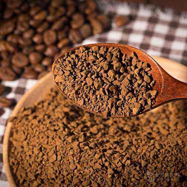 New instant coffee powder coffee ground coffee powder