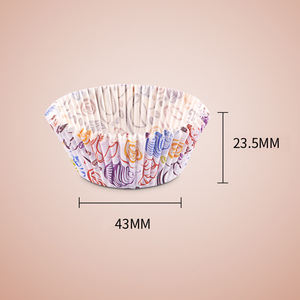 Unique colour printing cheap birthday party paper cup cake cases cup cake decoration cup cake holder