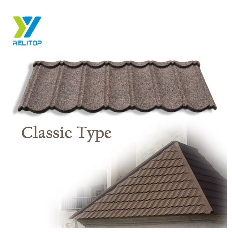 Japanese High Quality Natural Stone Coated Metal Roofing Tile /Roofing Sheet