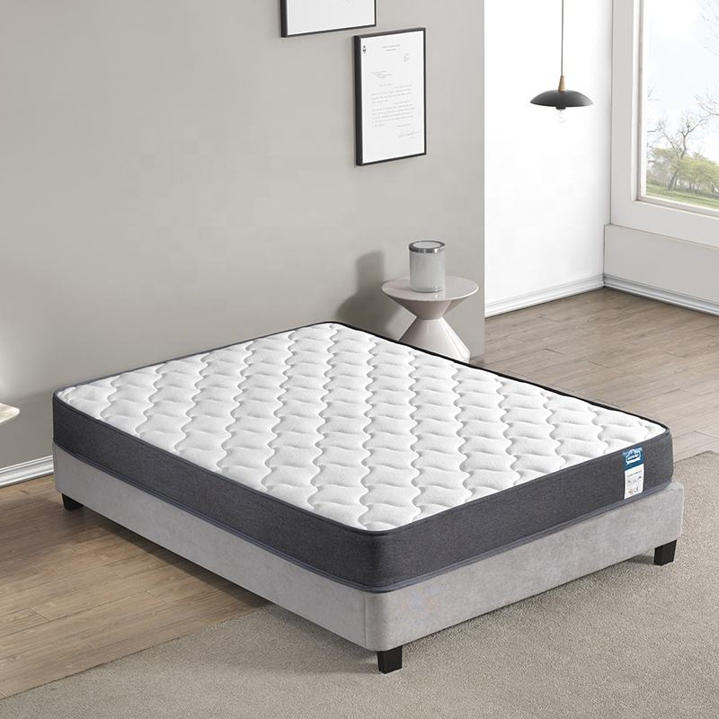 Night Sleep Compressed Wholesale Double Queen King Size Memory Foam Pocket Spring Bed Mattress