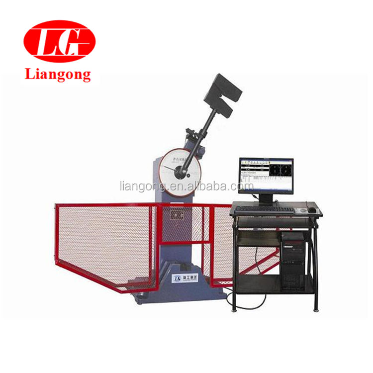300J calibration of impact testing machine JB-300W Computer control metal impact testing device