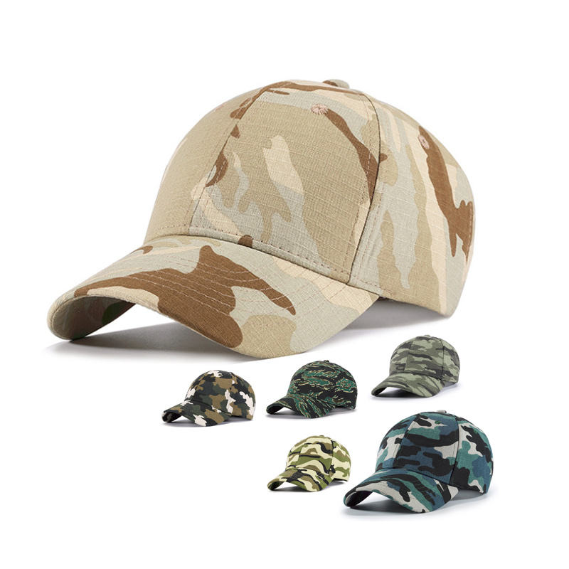 Blank Camo Hats Military Cap Baseball Hat Custom Snapback Trucker Tactical Army Camouflage