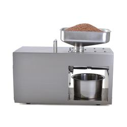 YTK-LTP208 tabletop automatic small coconut olive oil press groundnut oil extraction machine