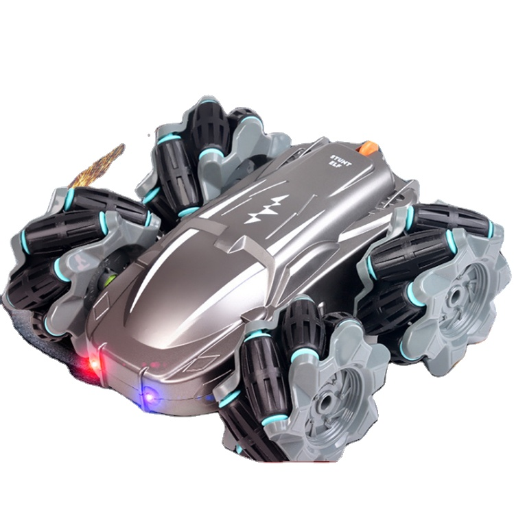2.4G Radio Control Toys 4WD Quad Wheels Kids Electric Cars Toy 360 Degree Rotation Running Remote Control Child Trucks Car