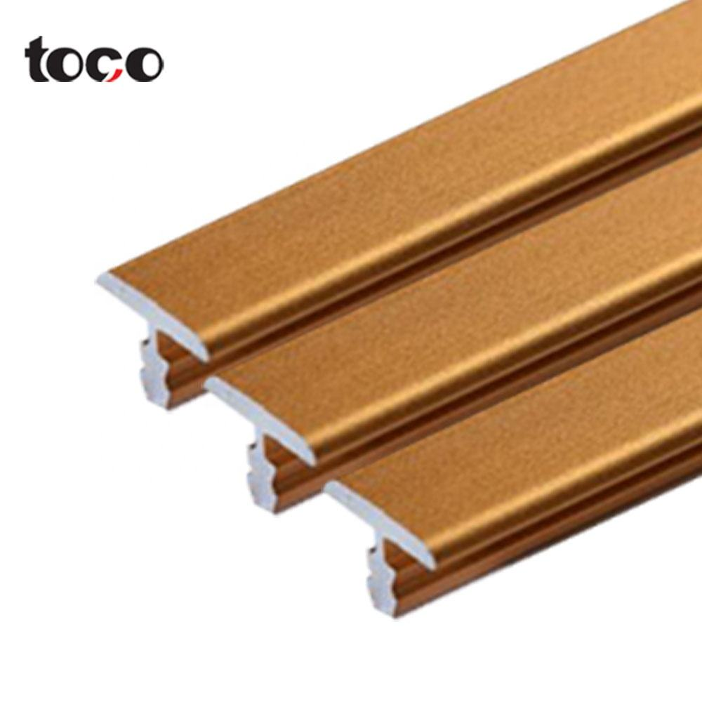 toco T Customized Exclusive Solution 6mm 8mm 10mm 12mm T Shaped Tile Trim