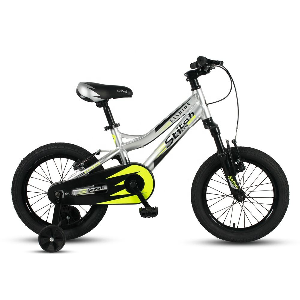JOYKIE 16 inch aluminum alloy kids bmx fork suspension mountain bicycle children bike for kids