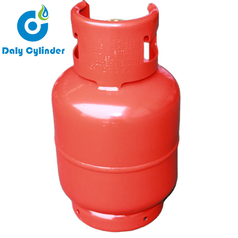 Factory Steel Made 9kg LPG Gas Cylinder Parts for Hotel Use