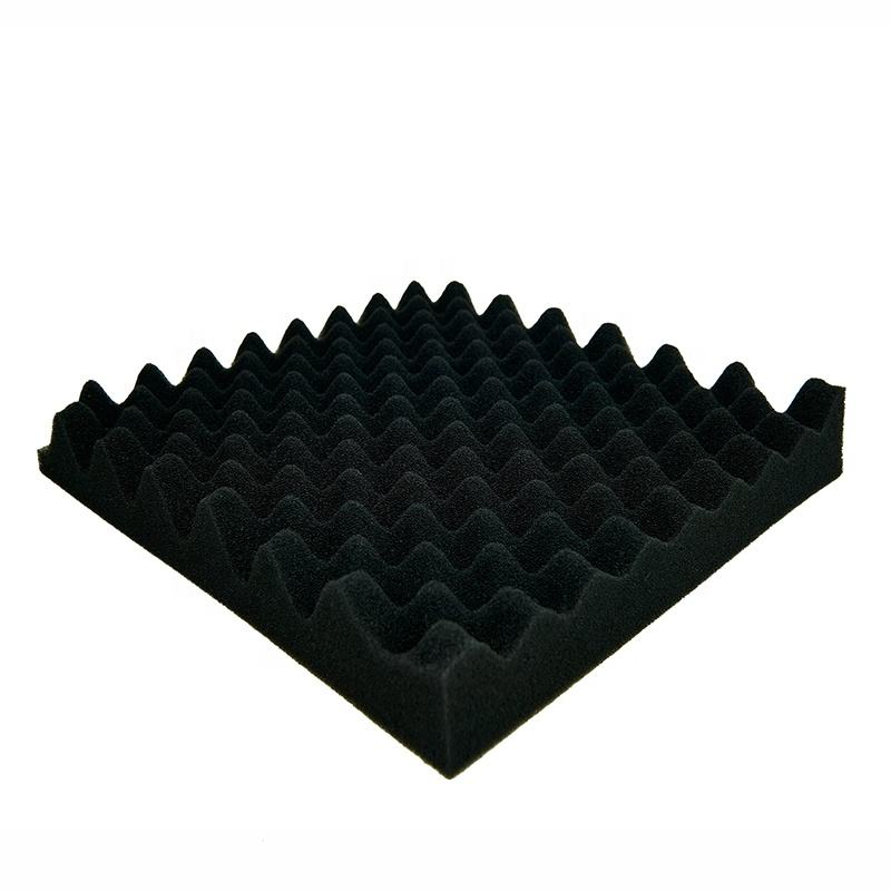 High Density Packing foam Chcarcoal Color Acoustic Sponge Panels Durable Sound Proof Foam