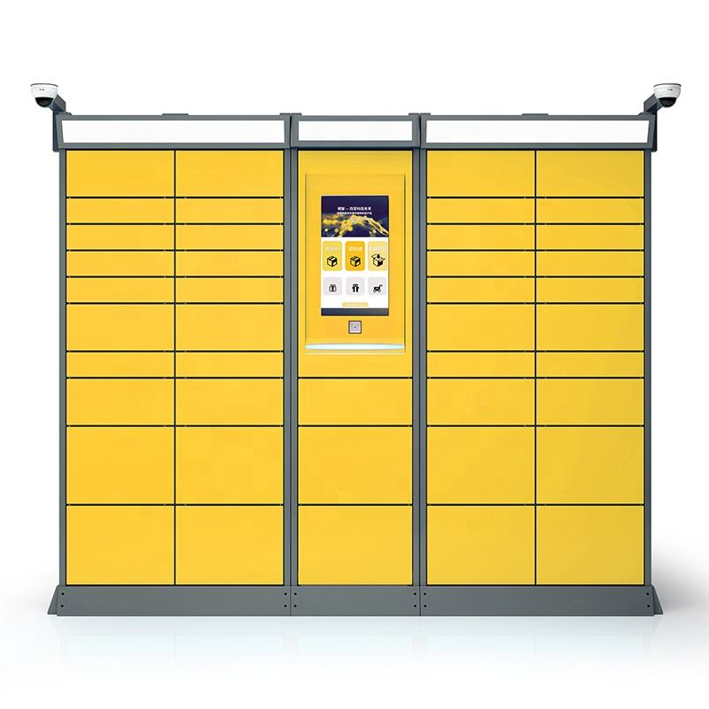 Shenzhen Custom Made Electronic Smart Cabinet Outdoor Parcel Locker