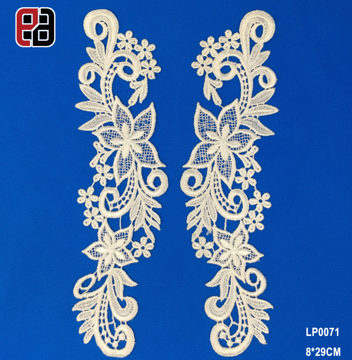 White Hollow Out Lace Flower Collar Sewing On Clothes Trim Applique For Neckline DIY Wedding Dress Decoration