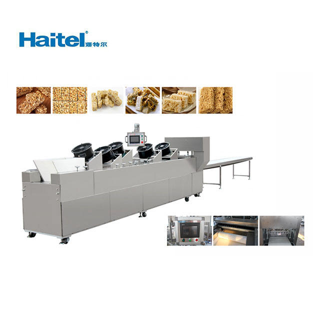 Cereal candy bar making machine production and forming line