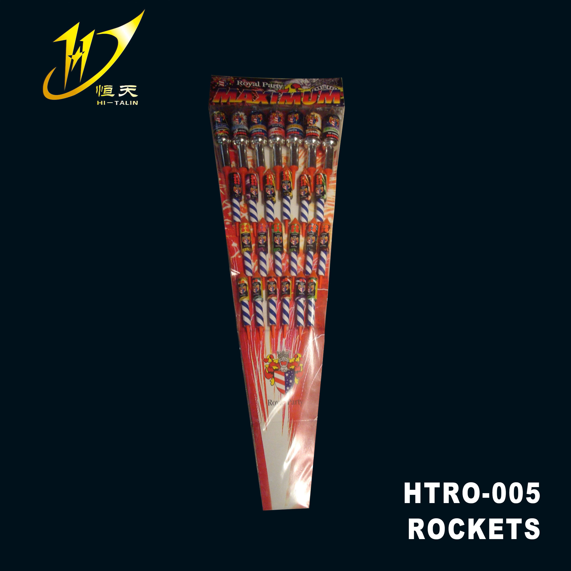 rocket ROCKETS HTRO-005 China fireworks outdoor yeshow pyrotechnics