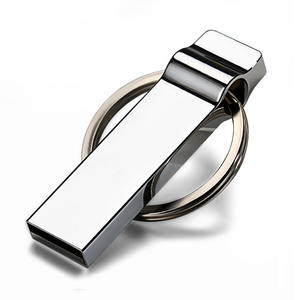 New Style Mini Metal 32GB USB Flash Drives USB 2.0 Pen Drive 16GB 8GB 4GB Pendrives Flash Memory