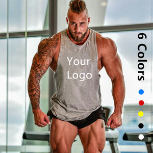 [Free Sample] Man Tank Top Apparel Processing Services Slight Customize