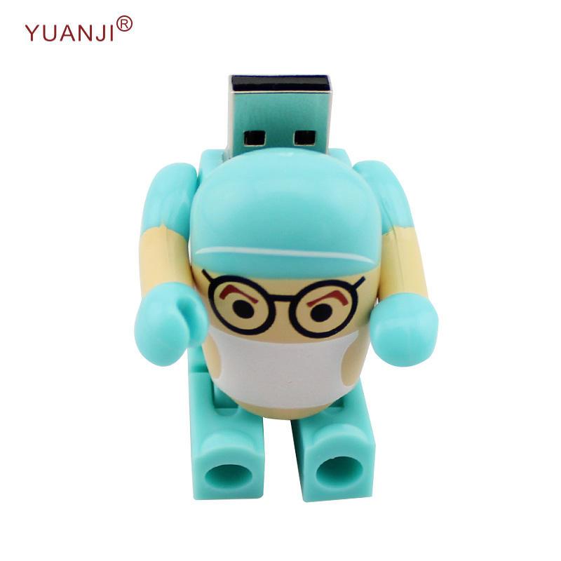 Offre Spéciale Robot Adapté Aux Besoins du client Forme Clé Usb Médecin Usb Lecteur <span class=keywords><strong>Flash</strong></span>