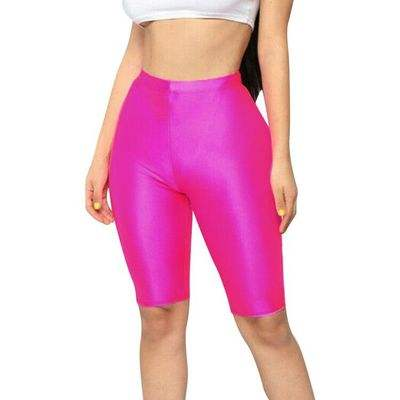 Women Cycling Shorts Dancing Gym Biker Slim Active Sports Solid Sexy Shorts2020 New Summer
