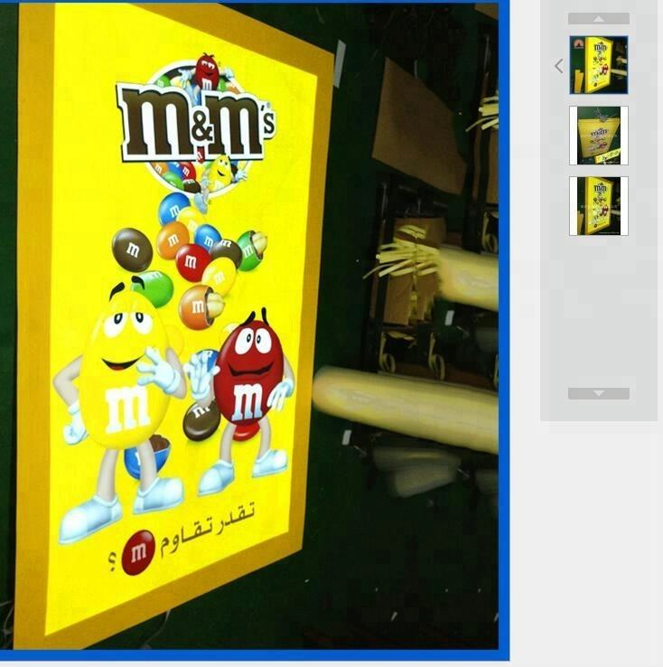 el advertisement sign for sale indoor and outdoor display el animation poster