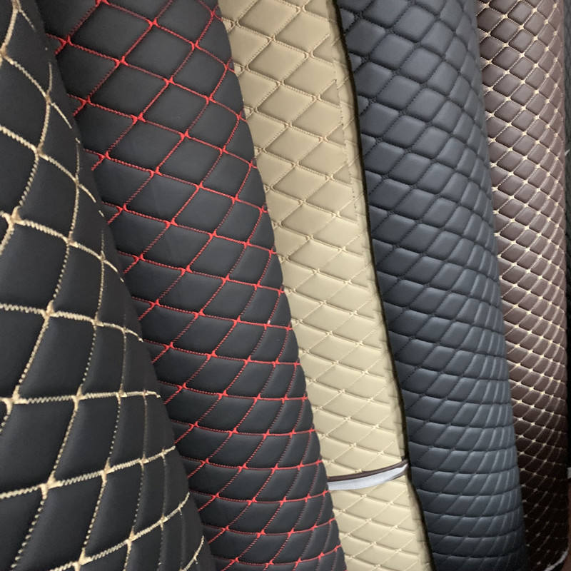 PVC Foam Furniture Covers Leather for Seat of Car or Car Floor
