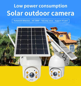 Day/night vision 1080P CCTV security Camera PTZ Wifi solar powered wireless outdoor 4G IP camera