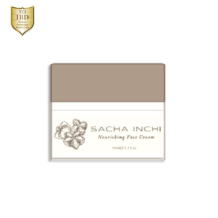 Sacha Inchi Nourishing Face Cream Reduce Wrinkles Moisturizing Skin Whitening Face Cream Made in Taiwan