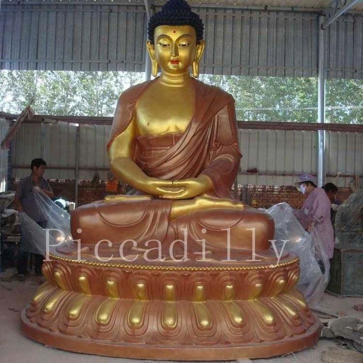 <span class=keywords><strong>Fonte</strong></span> da fábrica de fibra de vidro 3.6M estátua de buddha Tailandês buda com o modelo