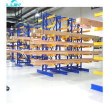 LIJIN High quality commercial large galvanized mobile cantilever rack