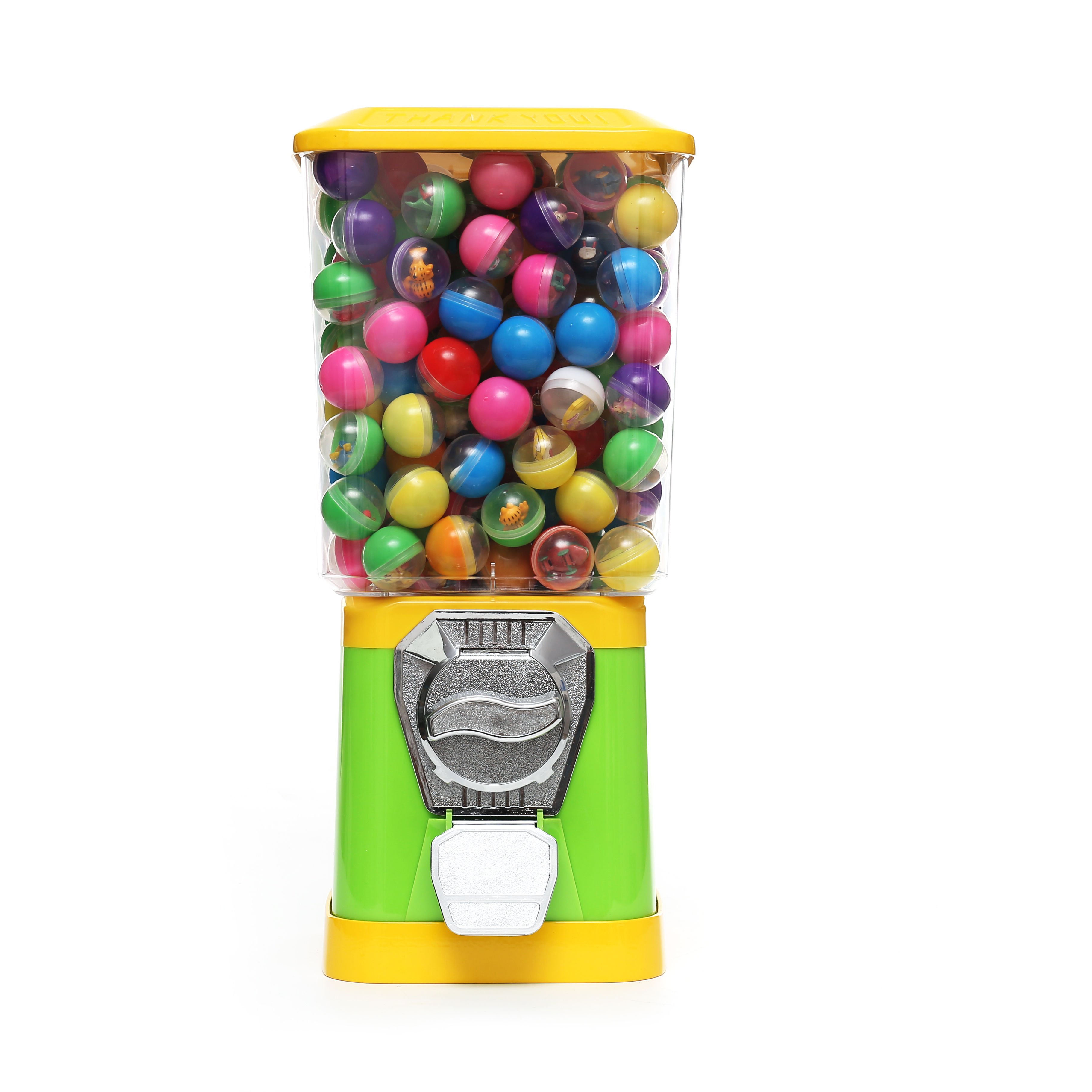gumball machine candy dispenser capsule toys bouncy ball vending machine with stand for kids