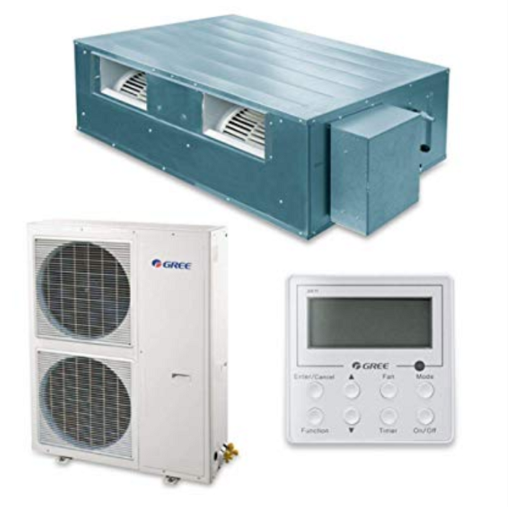 Big Duct Type Unit Series Gree Light Commercial Split Air Conditioner学校ホテルショップレストランホームなど。