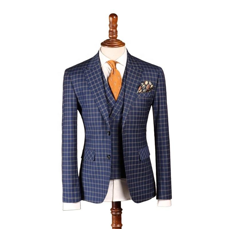 made to measure custom half canvas suits handmade men suit