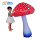 Party Decoration 1m Artificial giant lighting Inflatable Mushroom for music festival