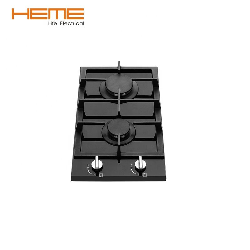 Cooking appliances tempered glass built-in gas hob/gas cooktop