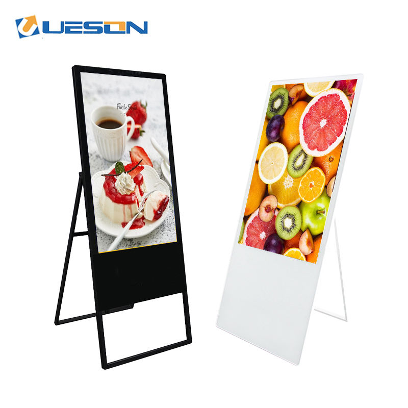 Floor Stand LCD digital signage Shopping center floor standing portable 1080P HD Advertising kiosk
