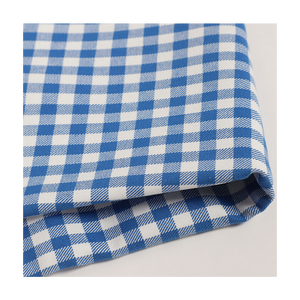 100% cotton yarn dyed plaid fire retardant fabric for fr plaid shirt, clothing pass CAT 2