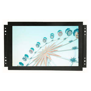 Custom LCD Display 10 inch To 43 inch Open Frame Monitor With Metal Case VGA Input